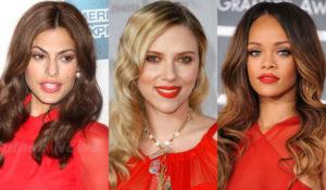 безупречный макияж под красное платье